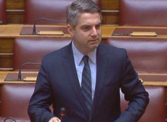 Οδ.Κωνσταντινόπουλος: «Ο ΣΥΡΙΖΑ απαξιώνει το Πανεπιστήμιο Πελοποννήσου»
