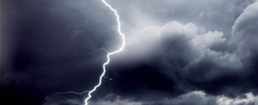 Ισχυρές βροχές και καταιγίδες θα πλήξουν το σαββατοκύριακο την Αρκαδία
