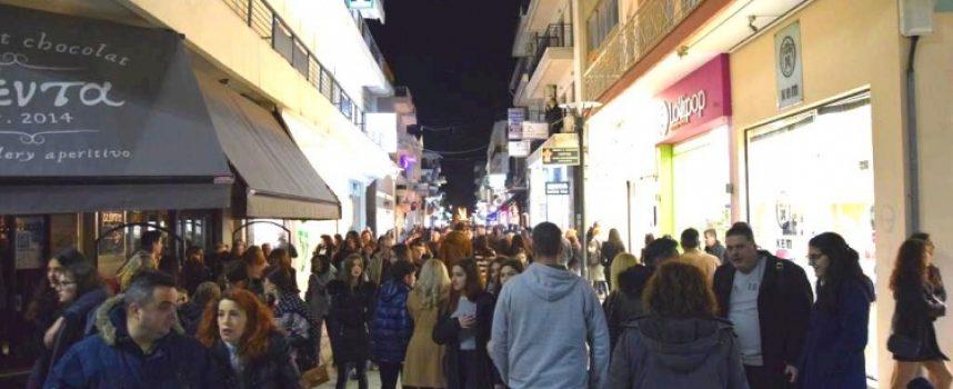 Ευχαριστίες του Δήμου Τρίπολης για μια ακόμα επιτυχημένη βραδιά Shock price…cool edition!!!