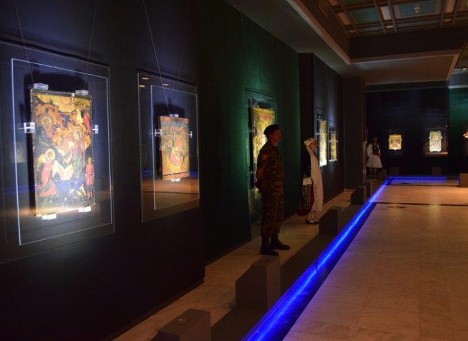 Εγκαινιάστηκε η Έκθεση Ιερόν Μανδήλιον στον ανακαινισμένο χώρο του Αποστολοπούλειου Πνευματικού Κέντρου