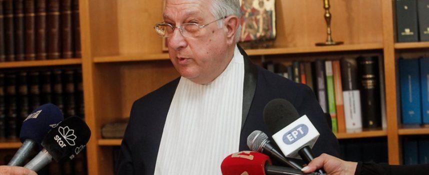 Παραίτηση βόμβα του Σακελλαρίου από την προεδρία του ΣτΕ: Κατήγγειλε παραβίαση του δικαστικού απορρήτου από την Κυβέρνηση