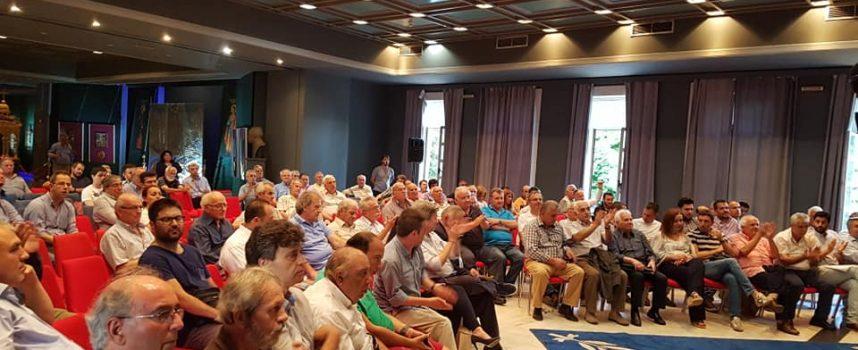 Με επιτυχία πραγματοποιήθηκε η πρώτη πολιτική εκδήλωση του Κινήματος Αλλαγής Αρκαδίας στην Τρίπολη