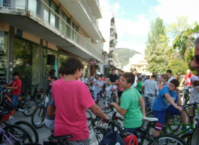 Ποδηλατάδα την Κυριακή 10 Ιουνίου στην Τρίπολη