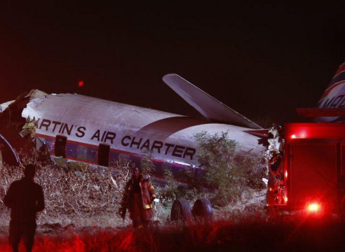 Τρομακτικό βίντεο: Η στιγμή της συντριβής αεροσκάφους στη Νότια Αφρική μέσα από την καμπίνα!