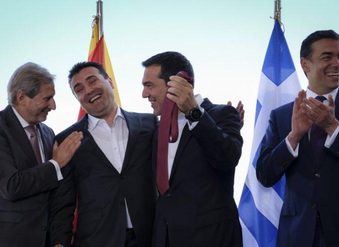 Χιλιάδες ελληνικές επιχειρήσεις πληρώνουν το «μάρμαρο» των Πρεσπών