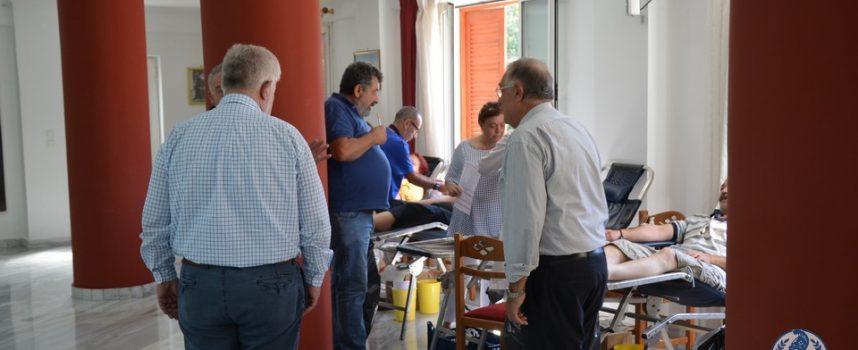 Κάλεσμα του Δημάρχου Τρίπολης στη εθελοντική αιμοδοσία «Άξιον Εστί»
