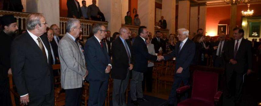Εκδήλωση στη μνήμη του νομοδιδασκάλου Βασιλείου Οικονομίδη από την Βυτίνα πραγματοποιήθηκε στο Πανεπιστήμιο Αθηνών παρουσία του Προέδρου της Δημοκρατίας