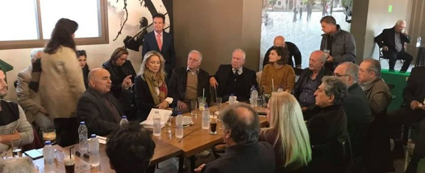 Πρώτη συνάντηση του Γιάννη Μπουντρούκα με φίλους στο Κιάτο Κορινθίας (φωτο & video)