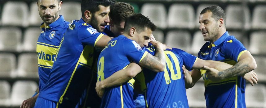 Λεβαδειακός-Αστέρας Τρίπολης 0-2: Πρώτο «διπλό» για τους Αρκάδες
