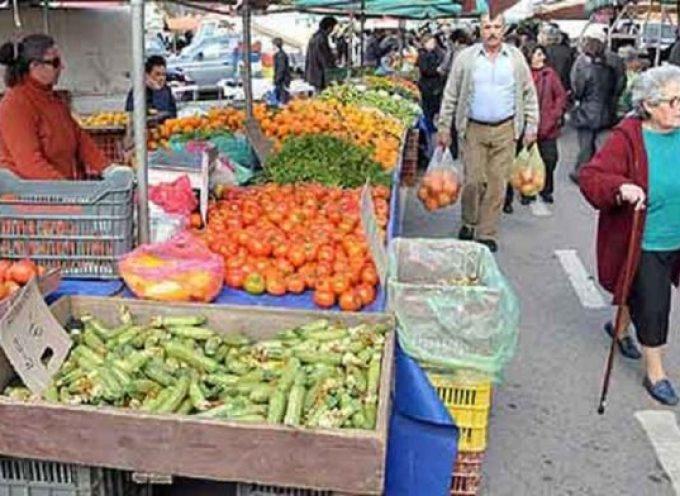 Αλλαγή μέρας λαϊκής αγοράς Πλ. Μαντινείας λόγω  Χριστουγέννων