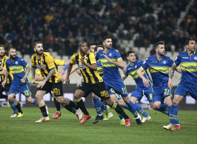 ΑΕΚ-Αστέρας Τρίπολης 3-0