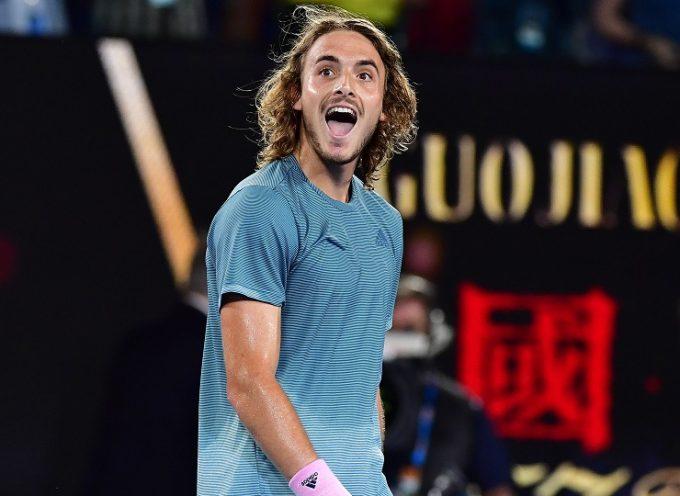 Νέος θρίαμβος του Τσιτσιπά – Προκρίθηκε στους «4» του Australian Open