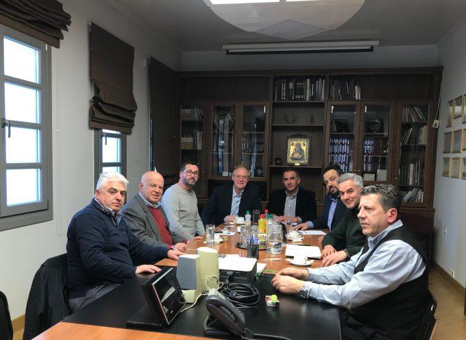 Συνάντηση εργασίας Επιμελητηρίου Αρκαδίας με το Διεθνές Επιμελητήριο Ελλάδος – ICC HELLAS