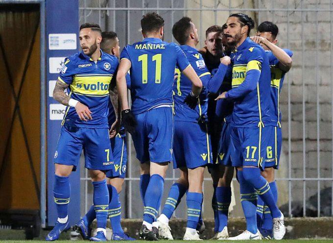 Αστέρας Τρίπολης-Παναιτωλικός 3-0