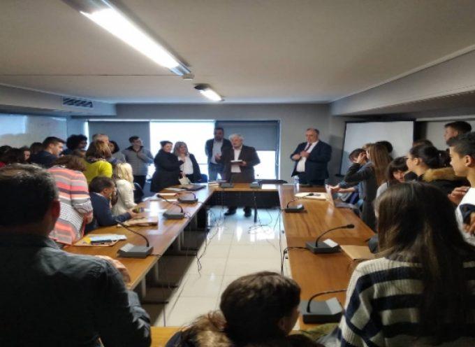 Επίσκεψη μαθητών Erasmus από 4 χώρες της Ευρώπης στην Τρίπολη