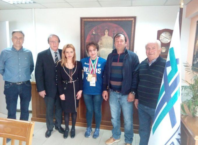 Επίσκεψη της Παγκόσμιας Πρωταθλήτριας ΤΕΚ ΒΟ ΝΤΟ Ιωάννας Κωστοπούλου στα ΚΤΕΛ Αρκαδίας