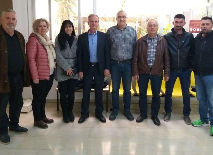 Επίσκεψη  Κώστα Μιχόπουλου στο Κέντρο Υγείας Μεγαλόπολης