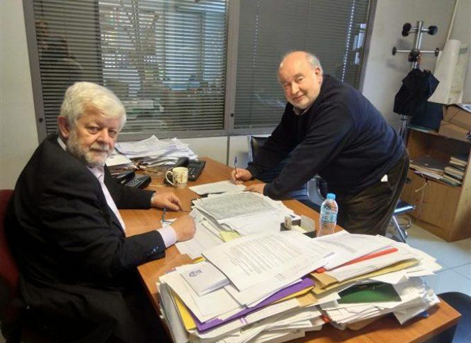 Πρωτόκολλο Συνεργασίας για το Δήμο Τρίπολης μεταξύ Παυλή – Παπαζαχαρία