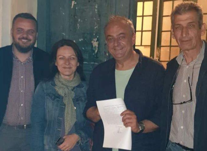 Όλοι οι υποψήφιου του συνδιασμού του Παναγιώτη Μαντά στην Βόρεια Κυνουρία