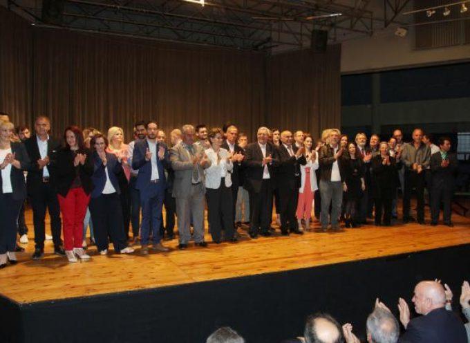 Εντυπωσιακή η εκδήλωση του Γιάννη Μπουντρούκα στην Καλαμάτα – Μέσα σε κλίμα ενθουσιασμού η παρουσίαση του ψηφοδελτίου της Πελοποννησιακής Συμμαχίας