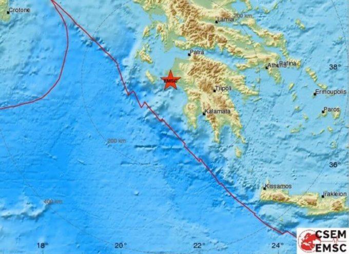 Νέος μεγάλος σεισμός στην Ηλεία!