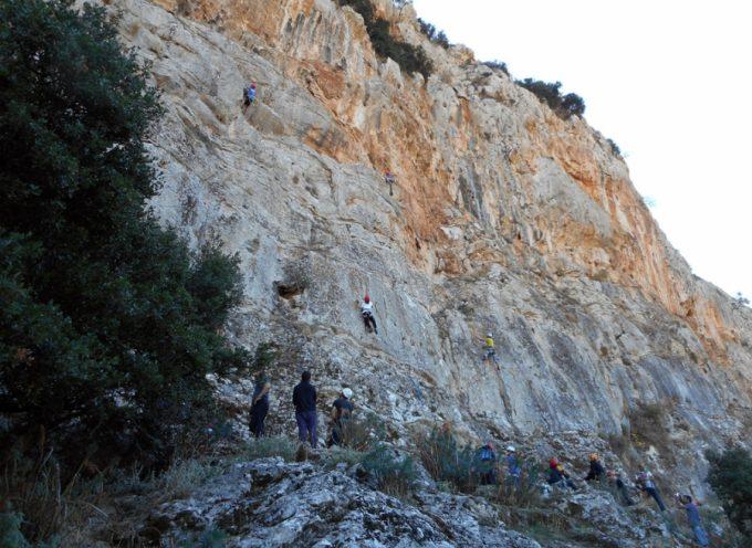 Aναρριχητική εξόρμηση του Ε.Ο.Σ Τρίπολης στη Νεστάνη