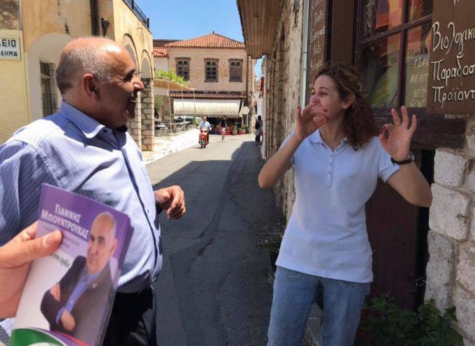 Επίσκεψη Γιάννη Μπουντρούκα στην Κυνουρία