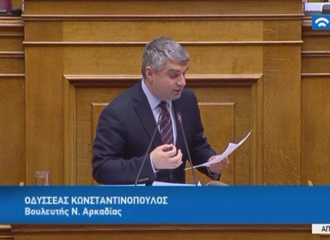 O Οδ.Κωνσταντινόπουλος ζητά να μην κλείσει το υποκαταστήμα τράπεζας Πειραιώς στο Λεβίδι