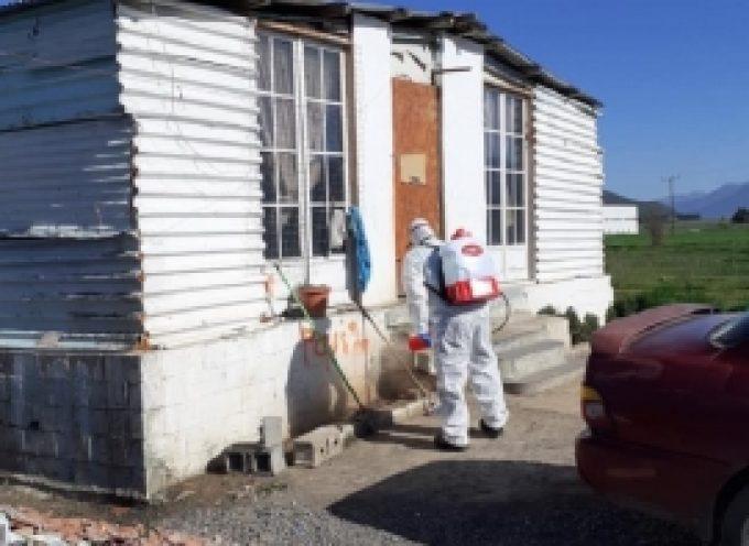 Προληπτικές απολυμάνσεις έγιναν σε καταυλισμούς Ρομά του Δήμου Τρίπολης (pics)