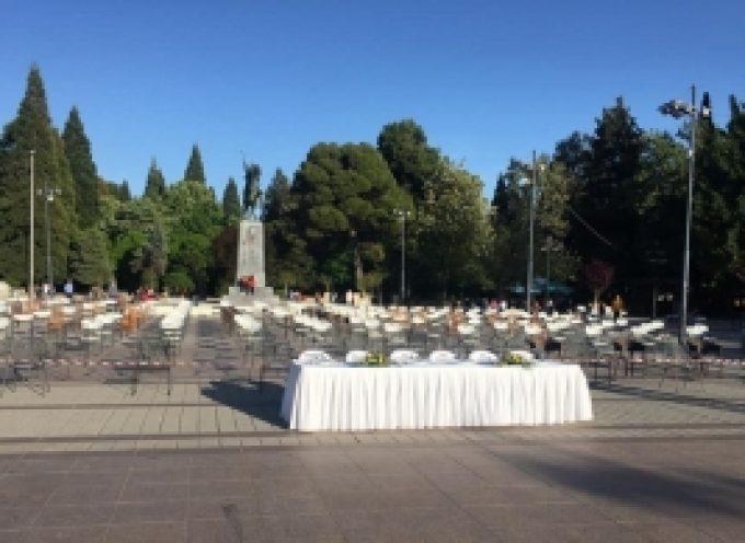 """Οι επιχειρήσεις εστίασης της Τρίπολης στην Πανευρωπαική διαμαρτυρία """"άδειες καρέκλες"""""""