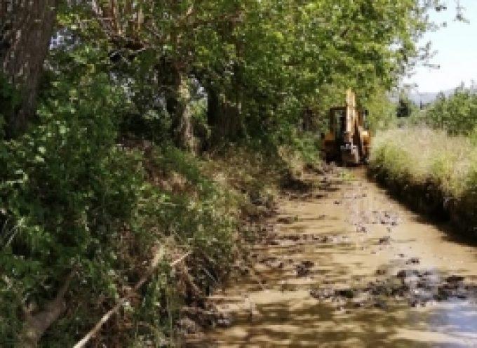 Μηχανήματα του Δήμου Τρίπολης συνεχίζουν τις εργασίες στη Τ.Κ. Κερασίτσας  (pics)