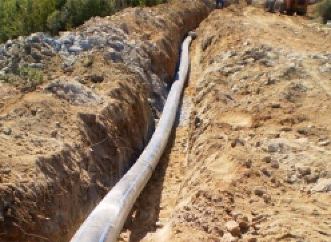 Αντικατάσταση δικτύου ύδρευσης οικισμού Αγ.Σώστη
