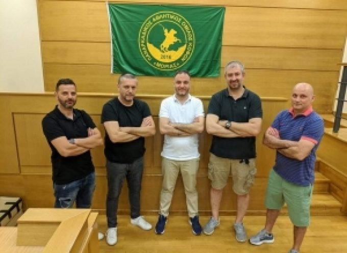 Νέο Συμβούλιο του Παναρκαδικού Αθλητικού Ομίλου Κωφών Μοριάς στην Τρίπολη
