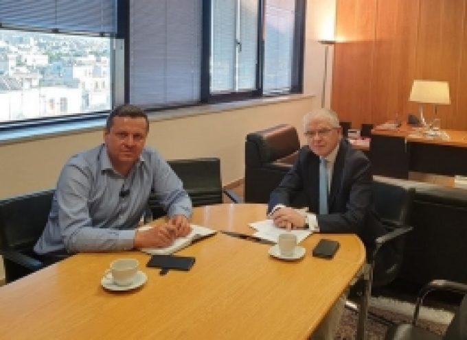 Συνάντηση με τον Πρόεδρο του ΕΛΓΑ Ανδρέα Λυκουρέντζο είχε ο Δήμαρχος Βόρειας Κυνουρίας Γιώργος Καμπύλης