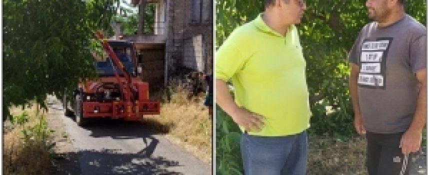 Κώστας Τζιούμης: «Δίνουμε ιδιαίτερη προσοχή στα προβλήματα των χωριών μας» (video)