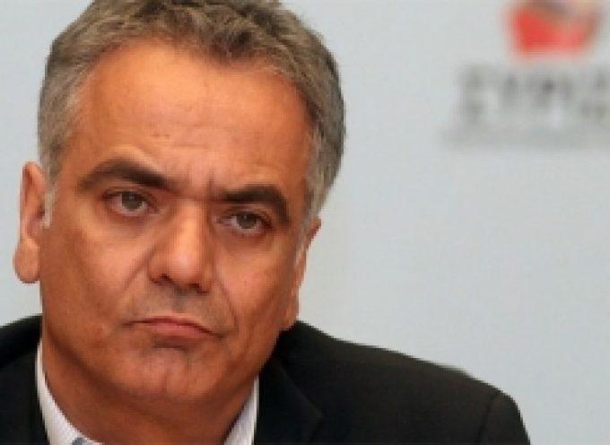 Συλλυπητήριο μήνυμα του Γραμματέα της Κ.Ε. του ΣΥΡΙΖΑ, Πάνου Σκουρλέτη, για τον θάνατο του Δημήτρη Παυλή