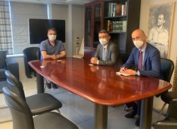 Επίσκεψη του πρέσβη του Αζερμπαϊτζάν στο Δήμαρχο Τρίπολης