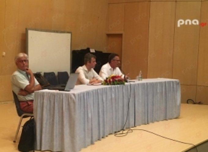 Συνάντηση του Ευρωβουλευτή Κώστα Αρβανίτη με αθλητικά σωματεία της Αρκαδίας (video – pics)