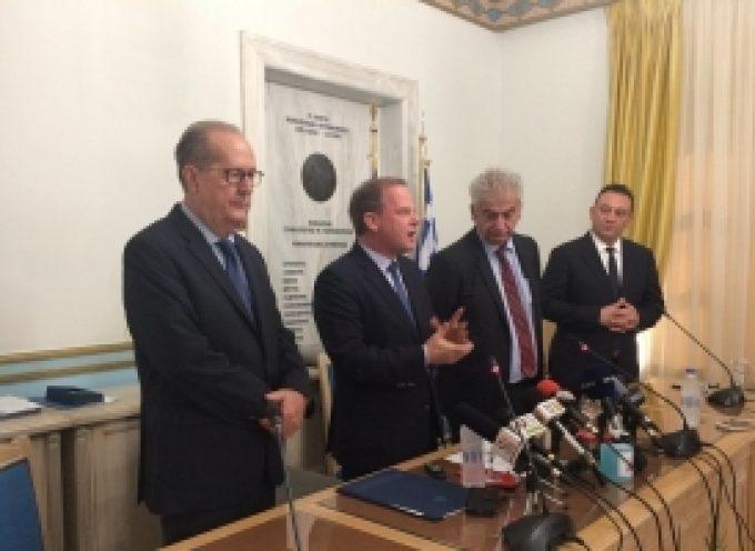 Την Τρίπολη επισκέφθηκε ο υπουργός Υποδομών και Μεταφορών Κ. Καραμανλής  (video – pics)