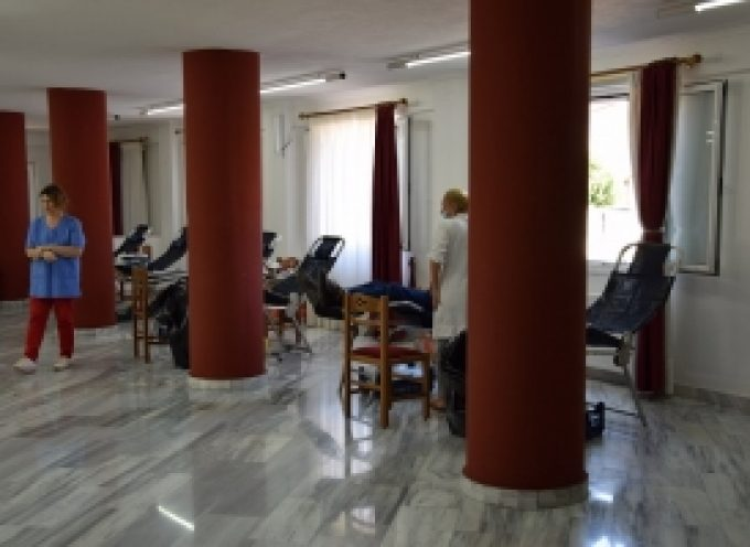 """Ξεκίνησε η εθελοντική αιμοδοσία του """"ΑΞΙΟΝ ΕΣΤΙ"""" στην Τρίπολη (video – pics)"""