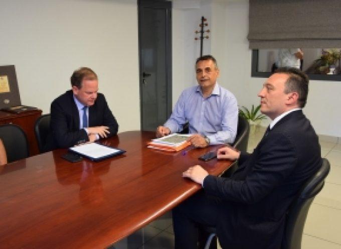 Συνάντηση Τζιούμη – Καραμανλή με θέμα έργα υποδομής στο Δήμο Τρίπολης (video – pics)
