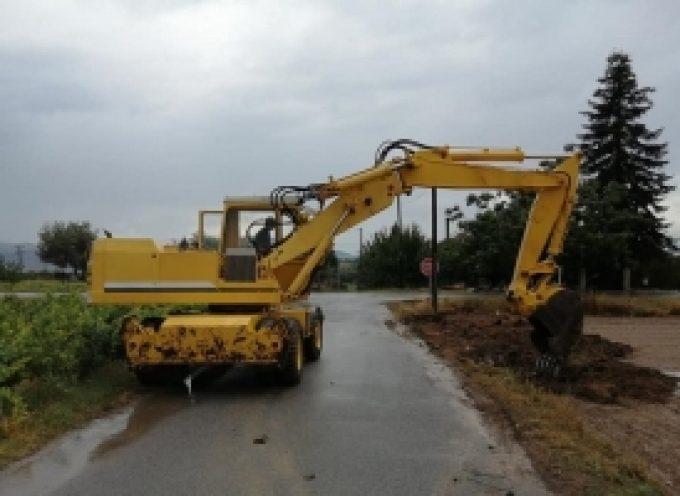 Άμεση ανταπόκριση του Δήμου Τρίπολης σε πλημμυρικό φαινόμενο στην Κερασίτσα (pics)