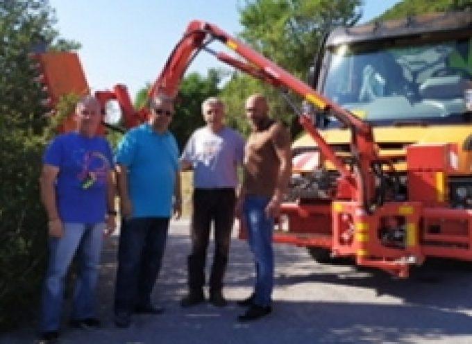 Εργασίες με το πολυμηχάνημα σε χωριά του Δήμου Τρίπολης – Κ. Τζιούμης: «Δεν παύουμε στιγμή να αφουγκραζόμαστε τις ανάγκες κάθε τοπικής κοινότητας»