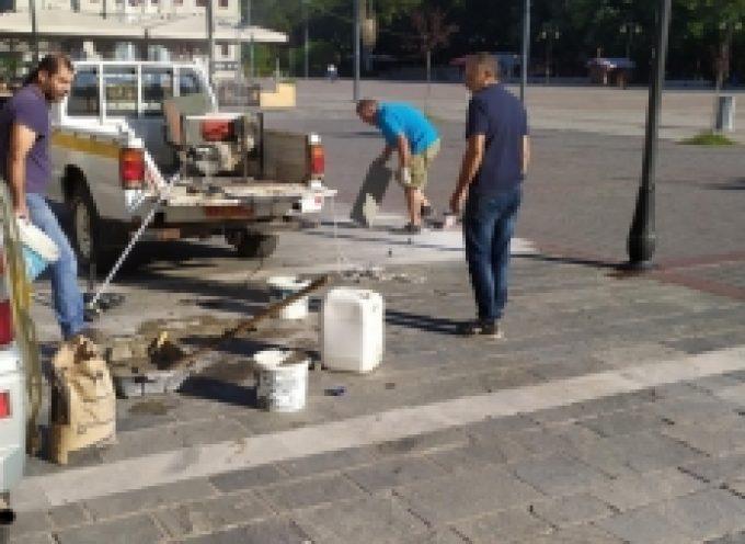Εργασίες για μία πιο ασφαλή και καλαίσθητη Πλατεία Άρεως