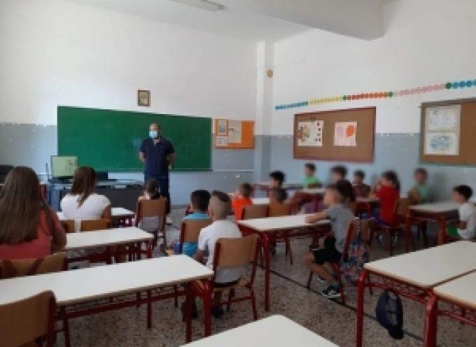 Ενημέρωση 1ης ΤΟ.Μ.Υ Τρίπολης για δράση πρόληψης και προαγωγής υγείας