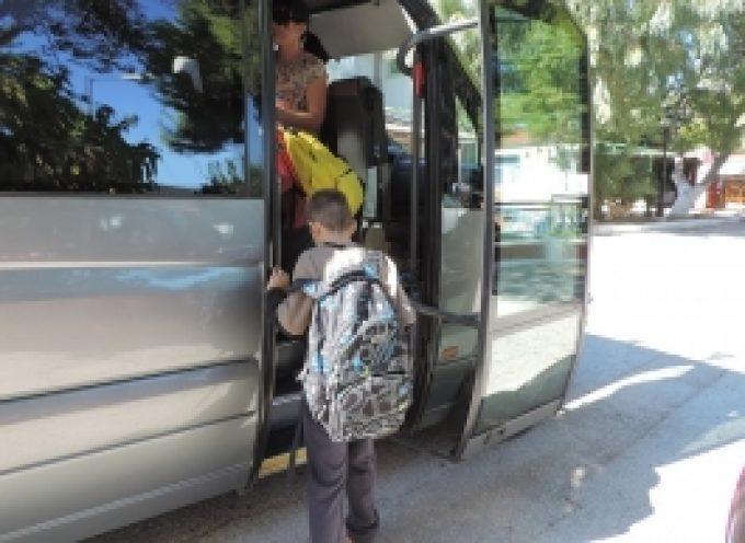 Διευκρινίσεις από την Π.Ε. Αρκαδίας για την μετακίνηση των μαθητών από και προς τα σχολεία τους