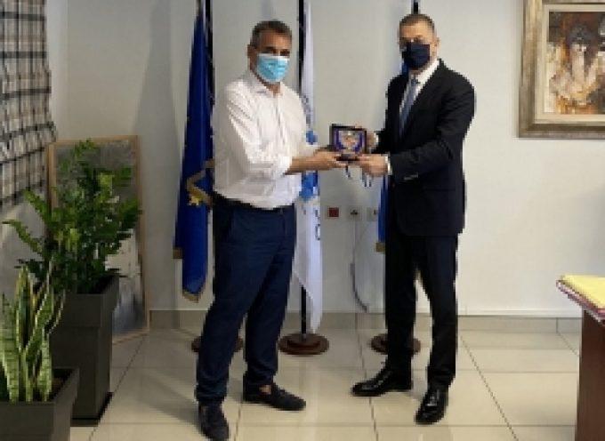 Τον Υφυπουργό Εθνικής Άμυνας υποδέχθηκε ο Δήμαρχος Τρίπολης
