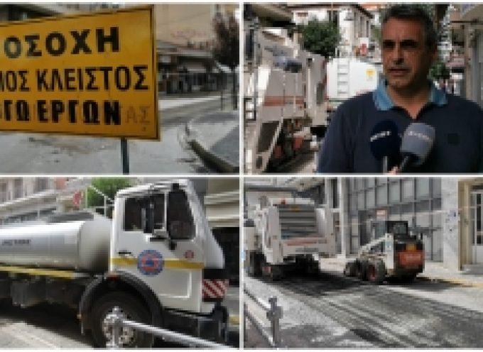 Κώστας Τζιούμης: «Προχωράμε ένα ευρύ δίκτυο ασφαλτοστρώσεων στην Τρίπολη και στα χωριά μας»