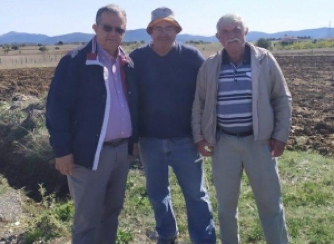 Συνεχίζουν τα μηχανήματα του Δήμου Τρίπολης το πρόγραμμα διάνοιξης αγροτικών δρόμων