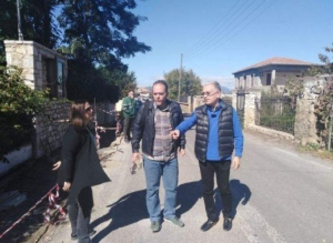 Σε εξέλιξη τα έργα στο δρόμο Τρίπολης – Άστρους